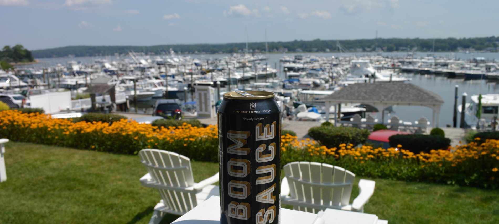 Lord Hobo Boom Sauce at Inn at Harbor Hill Marina