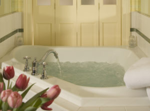 Jacuzzi tub at Manor on Golden Pond