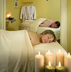 Couples massage at Manor On Golden Pond