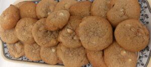 Maple Walnut White Choco cookies