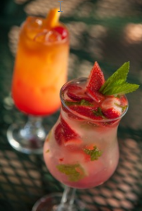 Strawberry Mojito from Chesterfield Inn