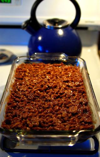 Pecan Pie Bars recipe from Captain's House Inn