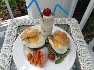 Rabbit Hill Inn's Retro and Romantic breakfast