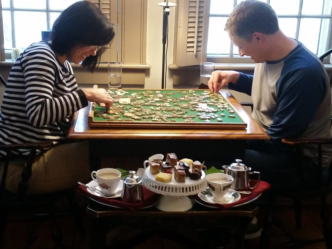 Rabbit Hill Inn honeymoon includes completing puzzles ers