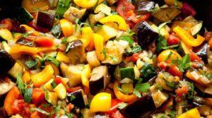 Vegan recipe for Ratatoille from Chesterfield Inn