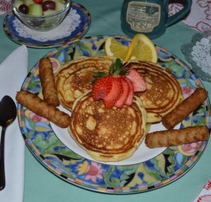 Ricotta Pancake Recipe from Inn at Harbor Hill Marina