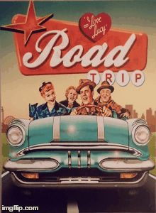 Road trip graphi
