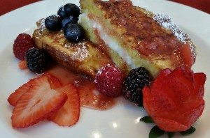 Berry Stuffed French Toast from Cliffside Inn