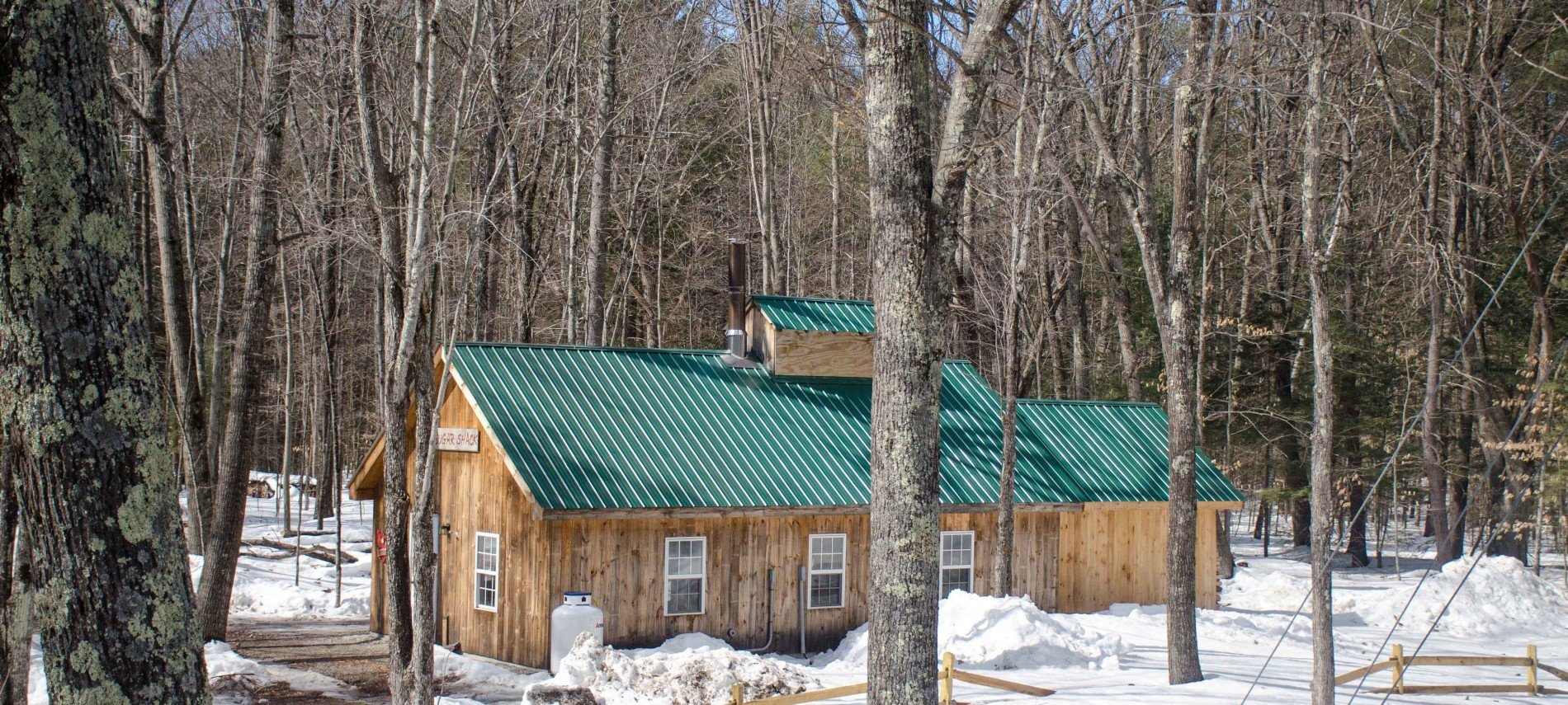 Sugar Shack at the Hundred Acre Wood, Intervale, NH