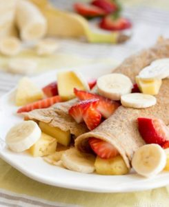 Vegan crepe recipe from Rabbit Hill Inn