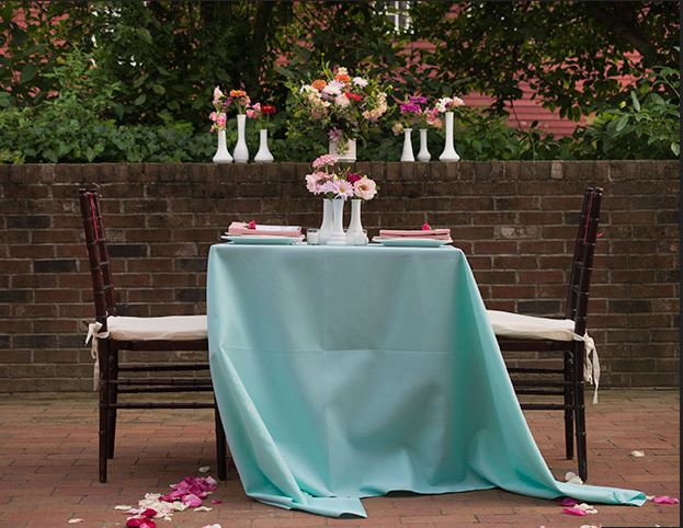 Table for two at Deerfield Inn