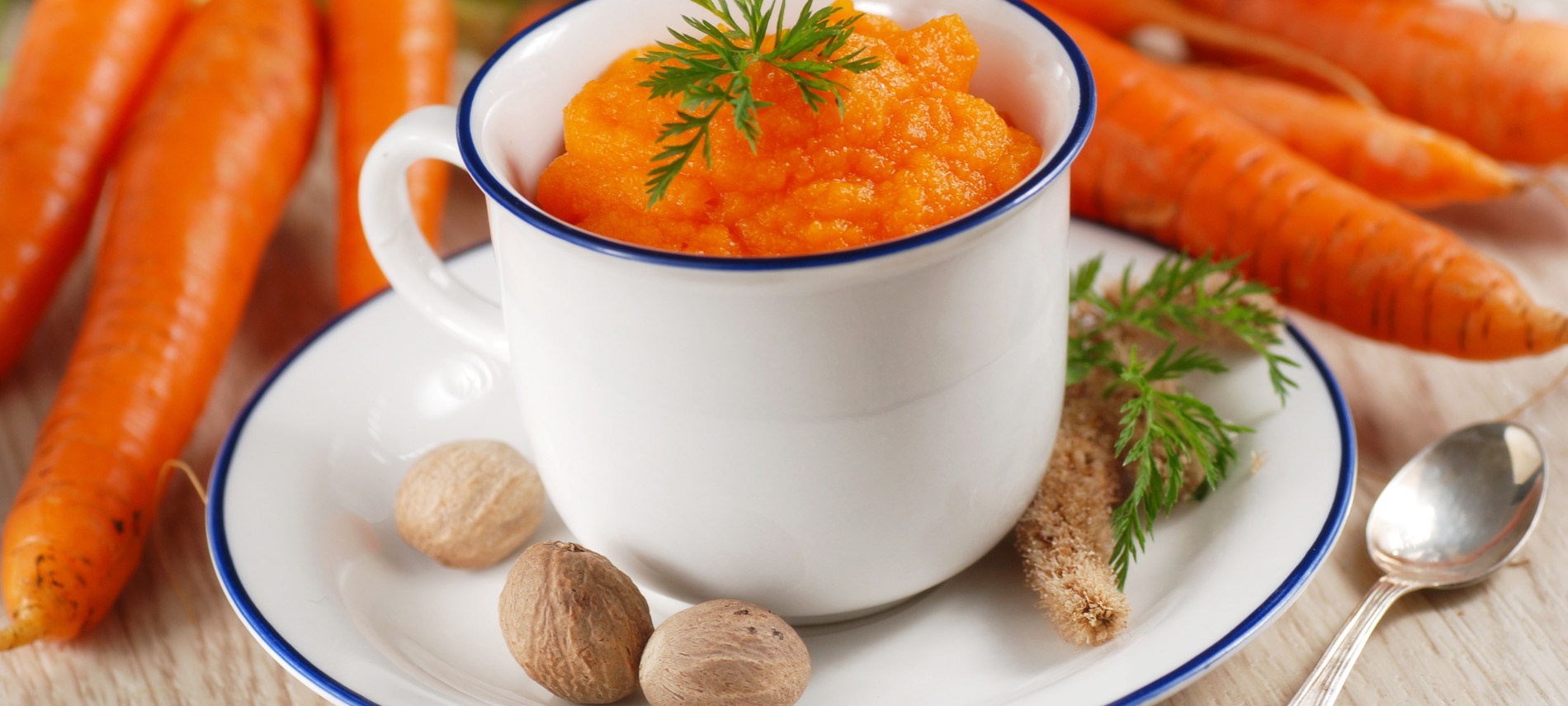 Carrot and Ginger Puree from Deerfield Inn