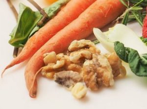 carrots and walnuts in Chesterfield Inn's carrot muffins