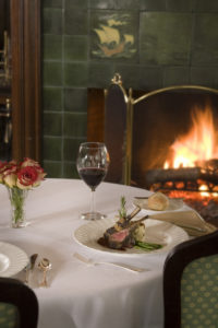 Van Horn dining room at Manor on Golden Pond