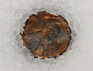 frozen penny