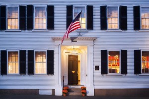 Made up of two Federal-era homes, Harbor Light Inn is in the heart of Marblehead, MA's historic district.