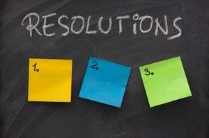 making resolutions in 2017